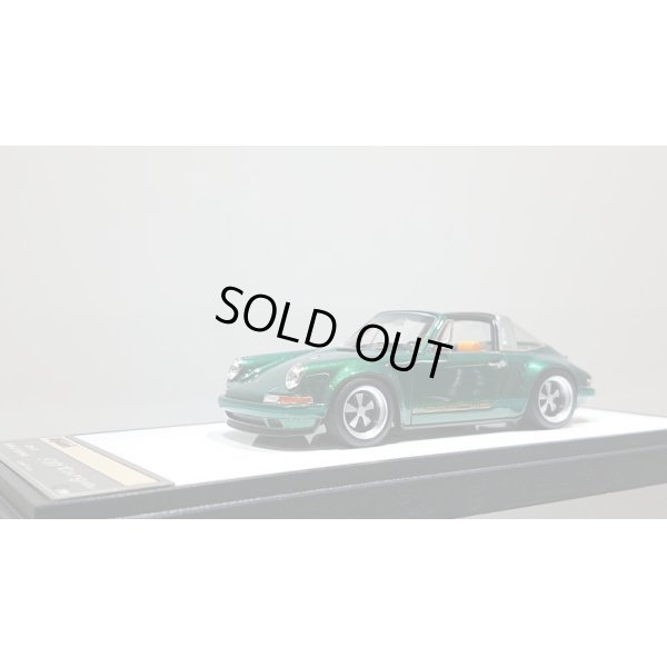 画像1: VISION 1/43 Singer 911(964) Targa Metallic Dark Green Limited 50pcs.