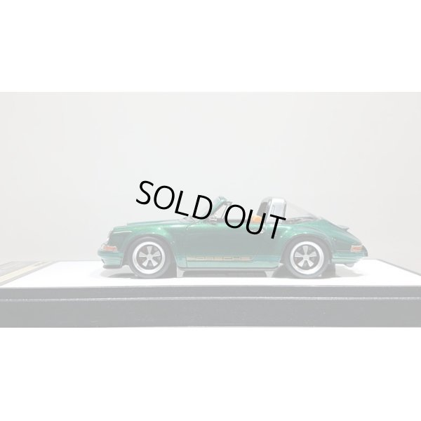 画像2: VISION 1/43 Singer 911(964) Targa Metallic Dark Green Limited 50pcs.