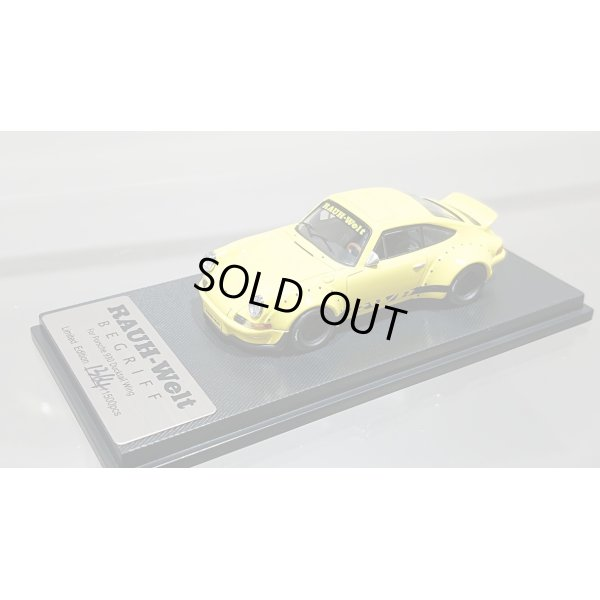 画像5: MODEL COLLECT 1/64 RWB 930 Ducktail Wing Yellow