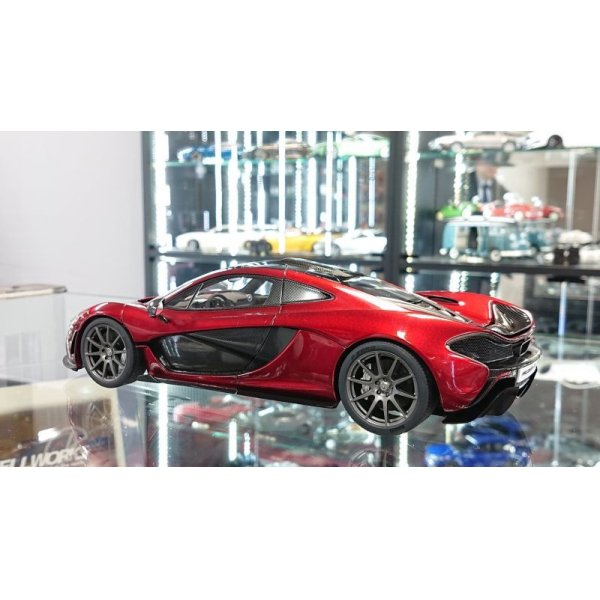 画像3: Autoart 1/18 McLaren P1 Volcano Red