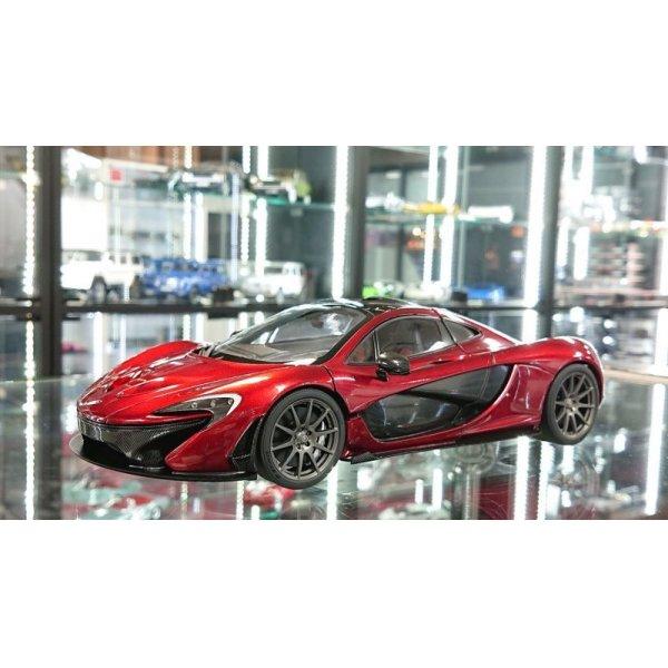 画像1: Autoart 1/18 McLaren P1 Volcano Red