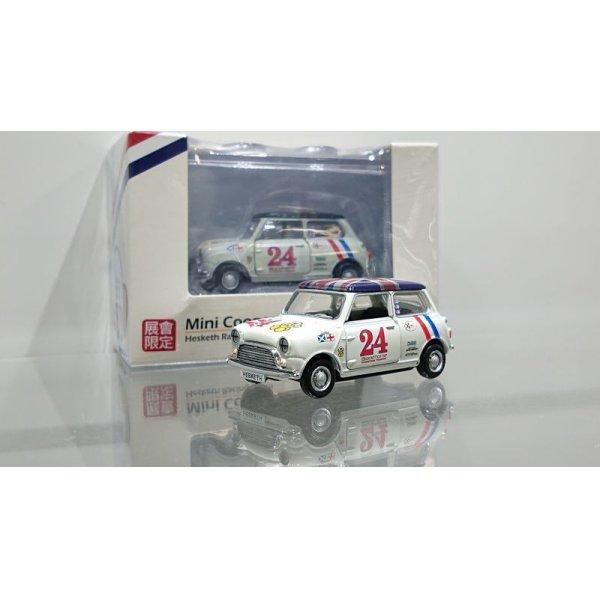画像1: TINY 1/64 Mini Cooper Racing #24 Hesketh Racing Team