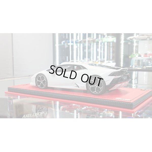 画像3: MR Collection Models 1/18 Lamborghini Huracan Evo Bianco Icarus Metallic Limited 49pcs.