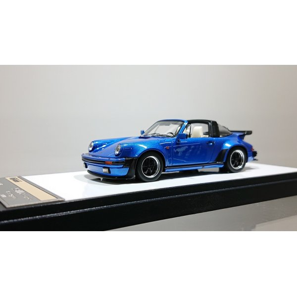 画像1: VISION 1/43 Porsche 930 Turbo Targa 1988 Metallic Dark Blue