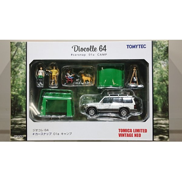"画像1: TOMYTEC 1/64 Diorama Collection 64 ""# Car Snap"" 01a Camp"
