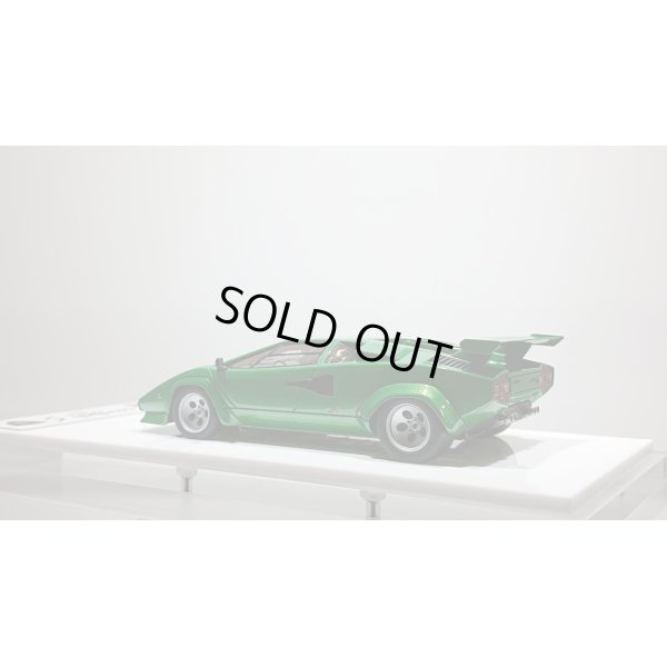 画像3: EIDOLON 1/43 Lamborghini Countach LP400S 1980 with Rear wing Metallic Green