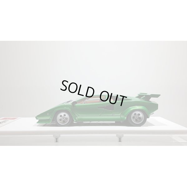 画像2: EIDOLON 1/43 Lamborghini Countach LP400S 1980 with Rear wing Metallic Green