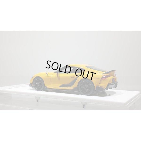 画像3: EIDOLON 1/43 TOYOTA GR SUPRA 2019 TRD Package Lightning Yellow