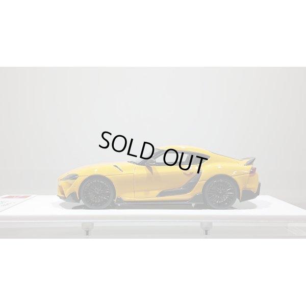 画像2: EIDOLON 1/43 TOYOTA GR SUPRA 2019 TRD Package Lightning Yellow