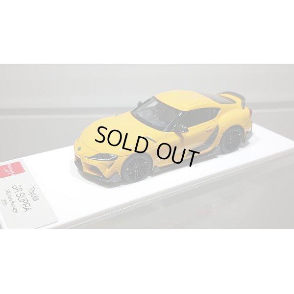 画像4: EIDOLON 1/43 TOYOTA GR SUPRA 2019 TRD Package Lightning Yellow