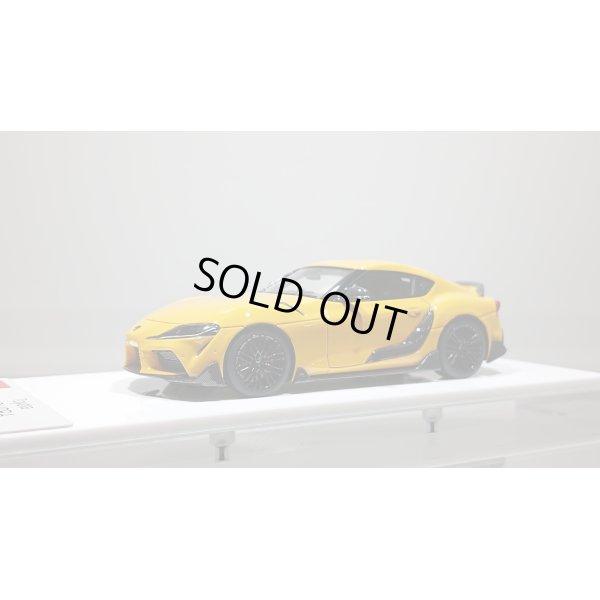 画像1: EIDOLON 1/43 TOYOTA GR SUPRA 2019 TRD Package Lightning Yellow