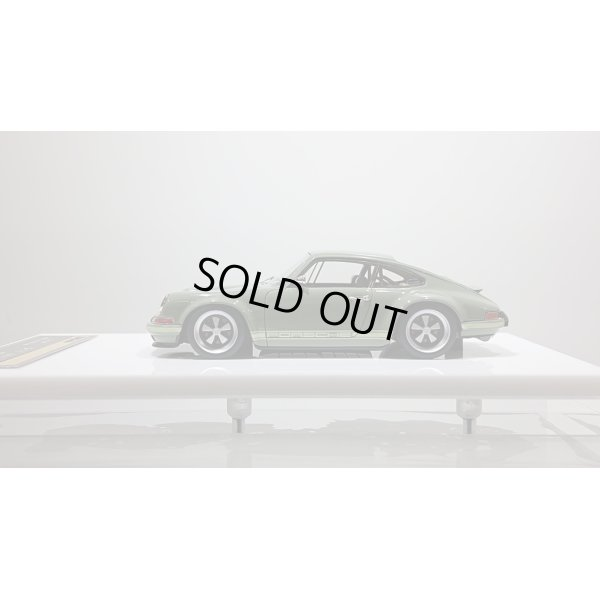 """画像2: VISION 1/43 Singer Porsche 911(964) Coupe Green Gray """"New Zealand"""" Limited 35 pcs."""