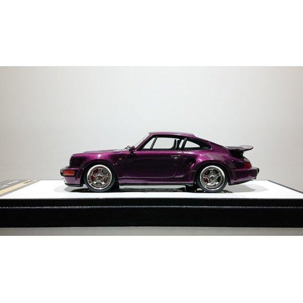 画像2: VISION 1/43 Porsche 911 (964) Turbo S Light Weight 1992 Amethyst metallic (Black / Gray Interior)