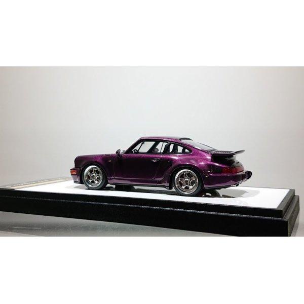 画像3: VISION 1/43 Porsche 911 (964) Turbo S Light Weight 1992 Amethyst metallic (Black / Gray Interior)
