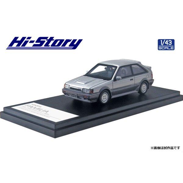 画像2: Hi Story 1/43 MAZDA FAMILIA FULL TIME 4WD GT-X '85 Sunbeam Silver Metallic / Raster Silver Metallic