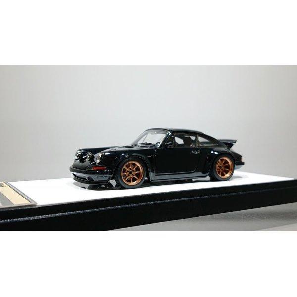 画像1: VISION 1/43 Singer 911(964) Coupe (Wing up) Black