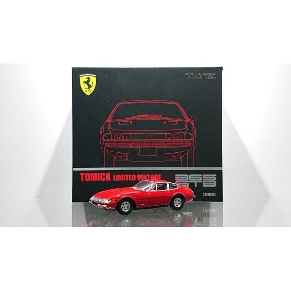 """画像1: TOMYTEC 1/64 Limited Vintage Ferrari 365 GTB4 """"Daytona"""" Red"""