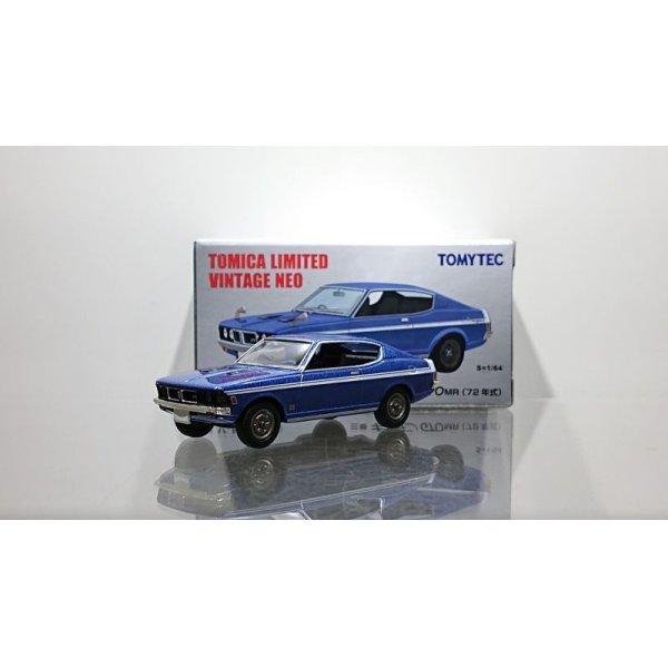 画像1: TOMYTEC 1/64 Limited Vintage NEO Mitsubishi Galant GTO MR '72 Blue