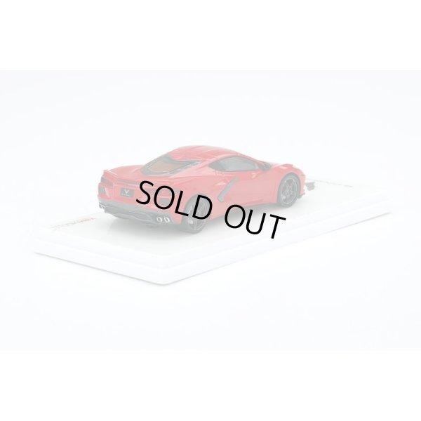 画像3: TSM MODEL 1/43 2020 Chevrolet Corvette Stingray Torch Red