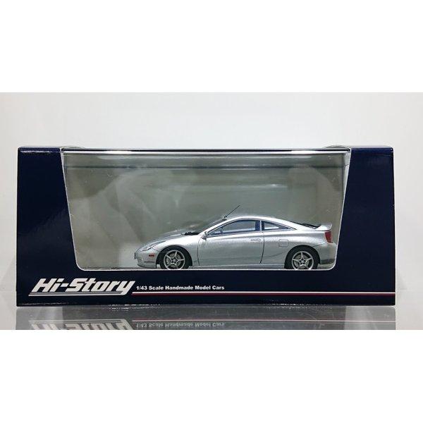 画像1: Hi Story 1/43 Toyota CELICA SS-2 Super Strut Package '99 Silver Metallic