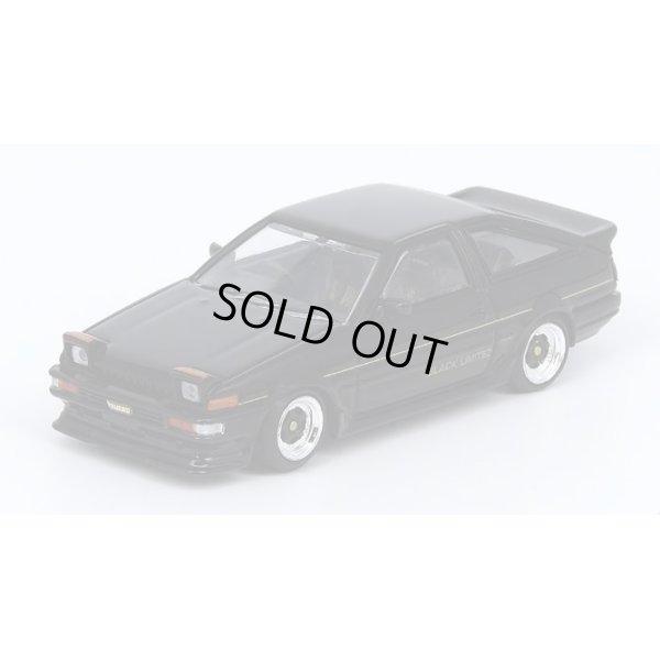 画像2: INNO Models 1/64 Sprinter Trueno AE86 Black