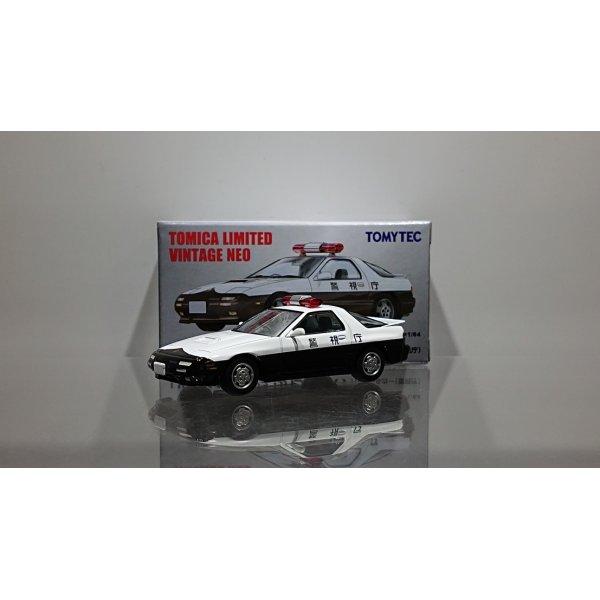 画像1: TOMYTEC 1/64 Limited Vintage NEO Mazda Savanna RX-7 Patrol Car (警視庁)