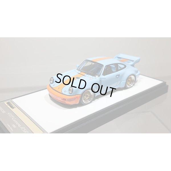 画像4: VISION 1/43 Porsche 911 (964) RSR 3.8 1993 (BBS wheel) Gulf Blue Orange stripe Limited 100pcs.