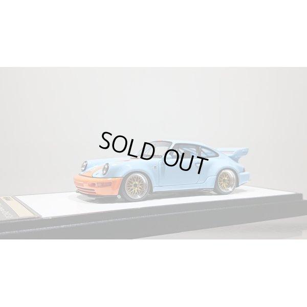 画像1: VISION 1/43 Porsche 911 (964) RSR 3.8 1993 (BBS wheel) Gulf Blue Orange stripe Limited 100pcs.