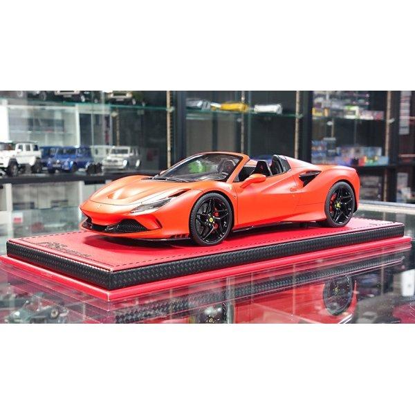 画像1: MR Collection Models 1/18 Ferrari F8 Spider Rosso F1 2019 (Matte) Limited 25pcs.