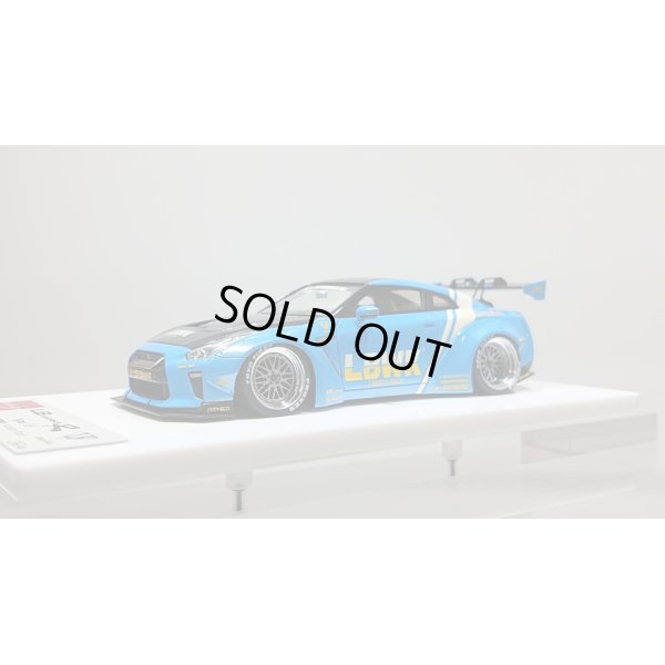 画像1: EIDOLON 1/43 LB WORKS GT-R Type 1.5 (GT Wing Version) Azzurro Pearl Limited 40 pcs.