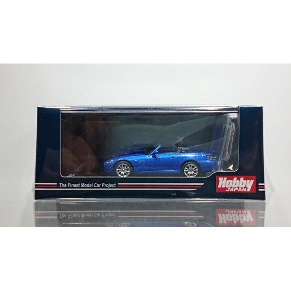 画像1: Hobby JAPAN 1/64 Honda S2000 (AP1) Type 200 Bermuda Blue Pearl