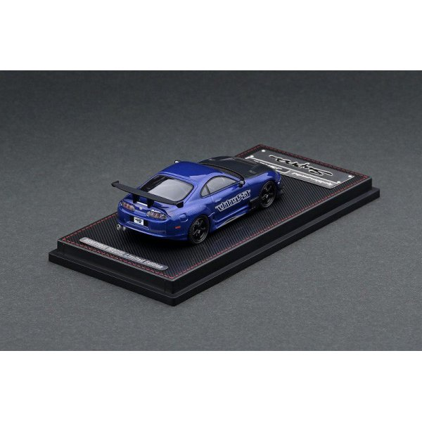 画像3: ignition model 1/64 Toyota Supra (JZA80) RZ Blue Metallic GReddy Ver.