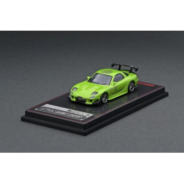 画像2: ignition model 1/64 Mazda RX-7 (FD3S) RE Amemiya Green Metallic