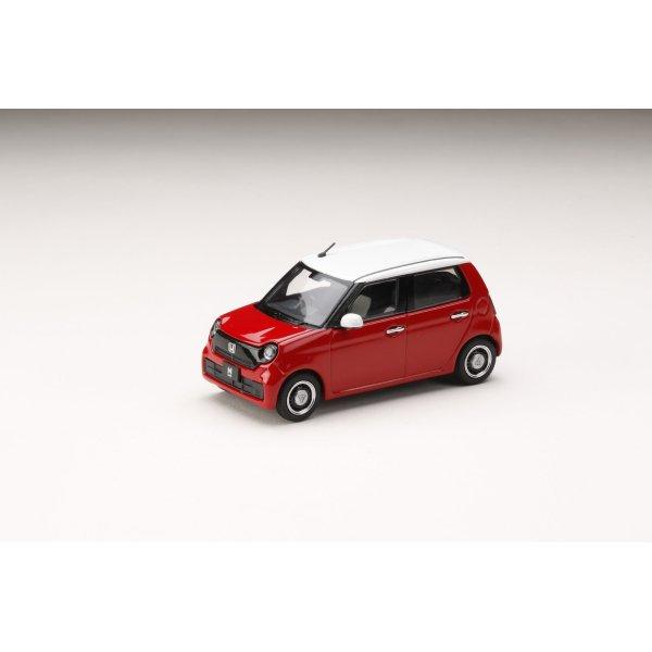 画像2: Hobby JAPAN 1/43 Honda N-ONE (2020) Red / White