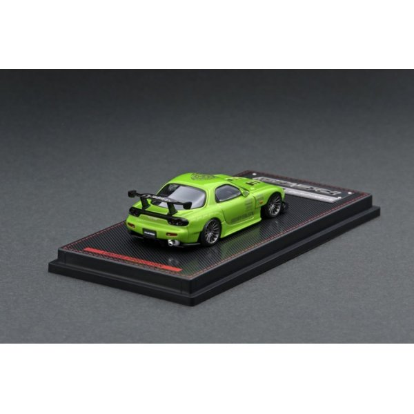 画像3: ignition model 1/64 Mazda RX-7 (FD3S) RE Amemiya Green Metallic