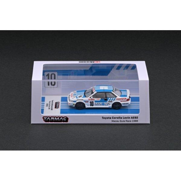 画像4: Tarmac Works 1/64 Toyota Corolla Levin AE92 Macau Guia Race 1988