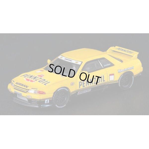 """画像2: INNO Models 1/64 Nissan Skyline GT-R R32 Pandem """"Pennzoil"""" Retro Color Concept"""