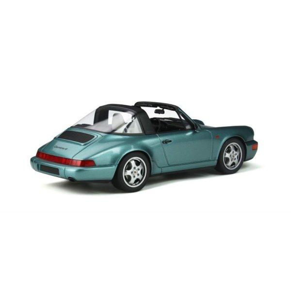 画像2: GT Spirit 1/18 Porsche 911 (964) Carrera 4 Targa (Turquoise)