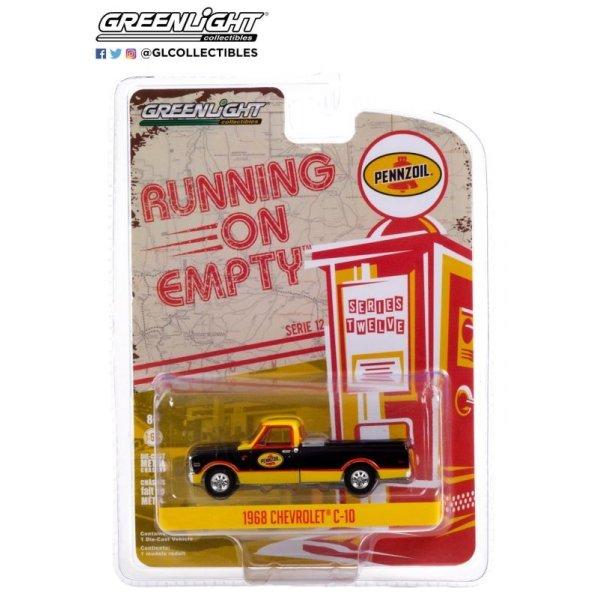 画像1: GREEN LiGHT 1/64 Running on Empty # 12 1968 Chevrolet C-10 w / Toolbox PENNZOIL