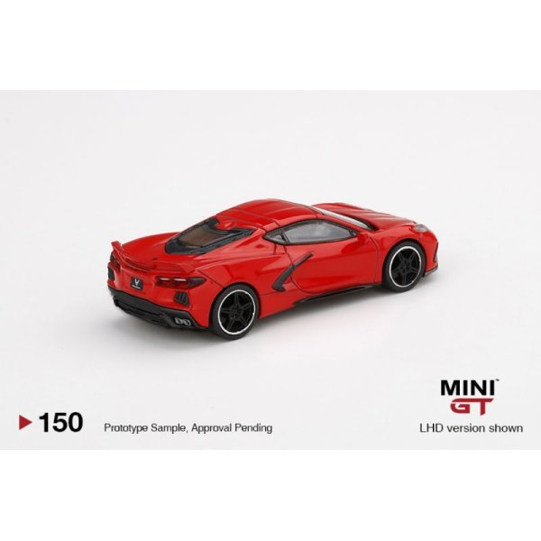 画像3: MINI GT 1/64 Chevrolet Corvette Stingray 2020 Torch Red (RHD)