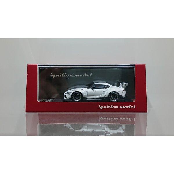 画像1: ignition model 1/64 PANDEM Supra (A90) Pearl White