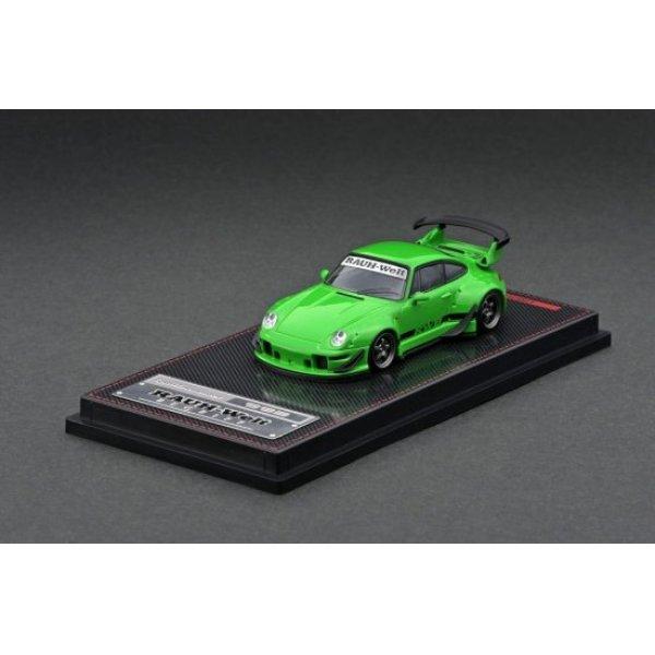 画像2: ignition model 1/64 RWB 993 Green Metallic