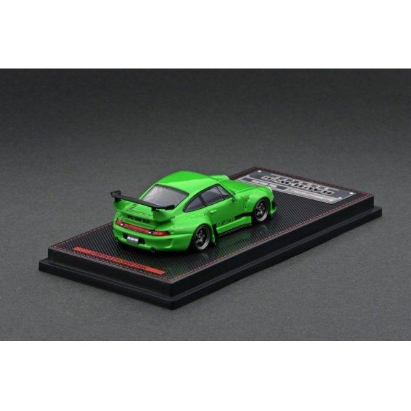画像3: ignition model 1/64 RWB 993 Green Metallic