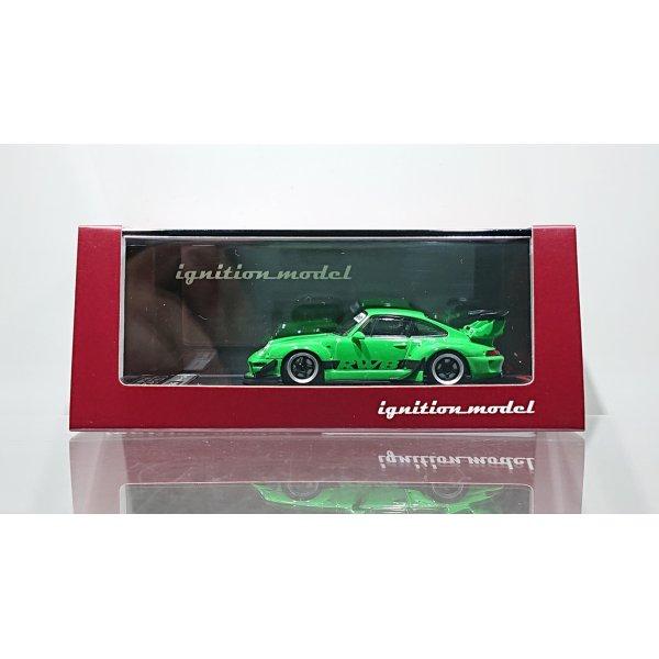 画像1: ignition model 1/64 RWB 993 Green Metallic