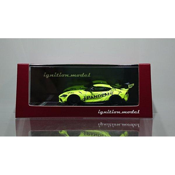 画像1: ignition model 1/64 PANDEM Supra (A90) Yellow Green