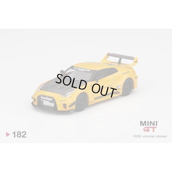 画像2: MINI GT 1/64 LB-Silhouette WORKS GT Nissan 35GT-RR Version 1 Yellow (RHD) U.S.A. Exclusive
