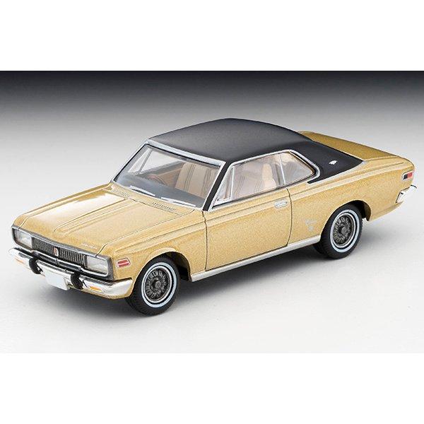 画像2: TOMYTEC 1/64 Limited Vintage Toyopet Crown Hardtop Super Deluxe '70 Gold / Black