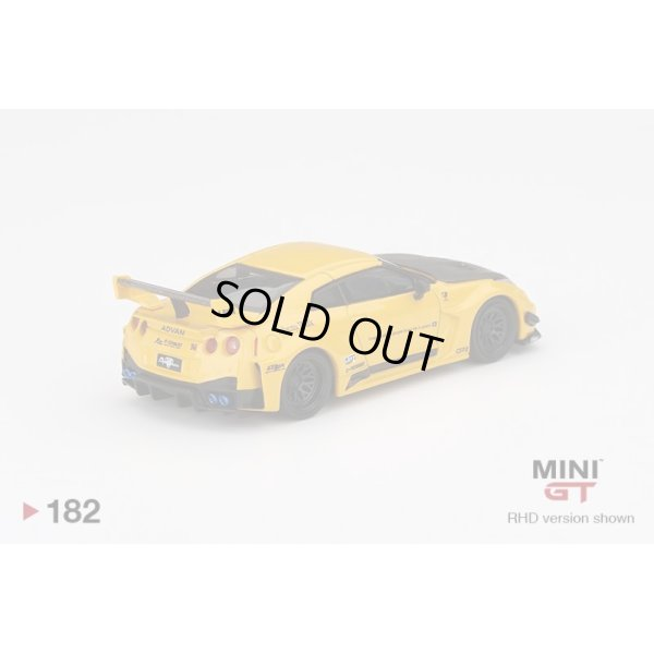 画像3: MINI GT 1/64 LB-Silhouette WORKS GT Nissan 35GT-RR Version 1 Yellow (RHD) U.S.A. Exclusive