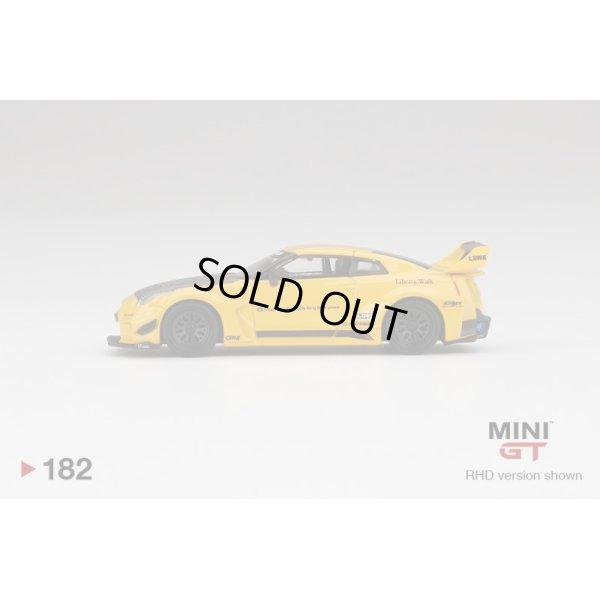 画像4: MINI GT 1/64 LB-Silhouette WORKS GT Nissan 35GT-RR Version 1 Yellow (RHD) U.S.A. Exclusive