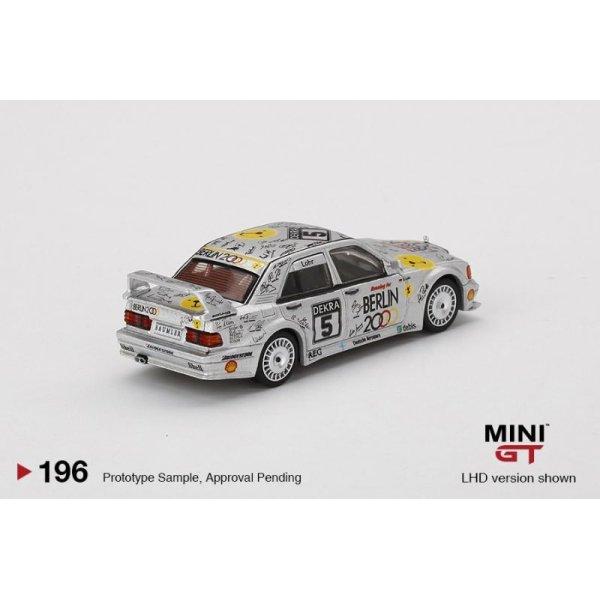 """画像3: MINI GT 1/64 Mercedes Benz 190E 2.5-16 Evolution II DTM Zolder 1992 # 5 """"Berlin"""" (LHD)"""